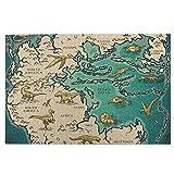 Hangdachang Mapa del supercontinente Pangea Rompecabezas para Adultos Rompecabezas de 1000 Piezas