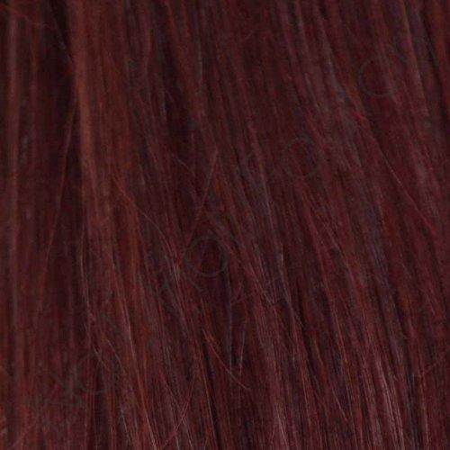 50,8 cm 200 pré-collé ongles remy Extensions de cheveux 1 G # 99J