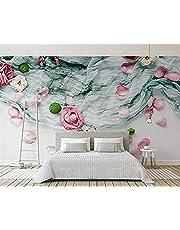 Moderne Thuis Woonkamer Slaapkamer Achtergrond Foto Behang Bos Rose Gedroogde Bloemen 3D Behang behang Vliesstof Woonkamer fotobehang muurschilderingen wandschilderijen
