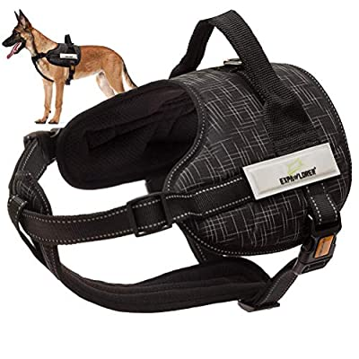 EXPAWLORER Dog Harness Pet Harness Adjustable O...
