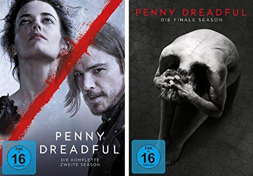 Penny Dreadful - die komplette Staffel 2+3 im Set - Deutsche Originalware [9 DVDs]