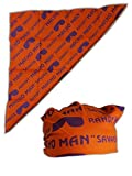 Macho Man Randy Savage Orange Print Costume Bandana