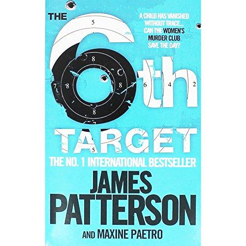 James Patterson The 6th Target - Hombrera para mujer