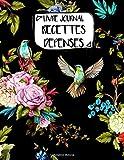 Livre Journal Recettes Dépenses: A4 -106 pages - Fleurs - Floral - bouquet - couverture souple glossy - AutoEntrepreneur - Budget - micro BIC - micro BNC