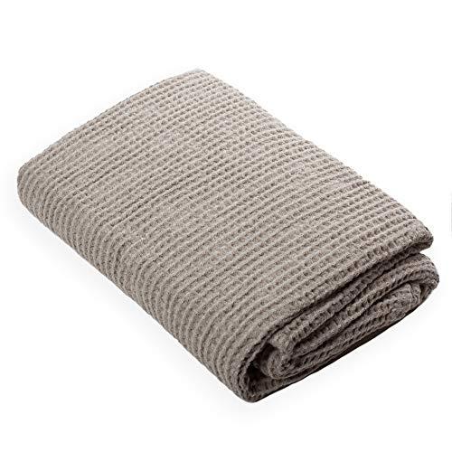 Lusie's Linen Toalla de baño - 52% Lino / 48% Algodón - Secado rápido