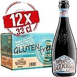 Baladin - Box Birra Nazionale Gluten free - Birra Artigianale 100% Italiana - Blonde Ale, Gluten Free, Non Pastorizzata, 6,5% vol. - 12 bottiglie x 33 cl
