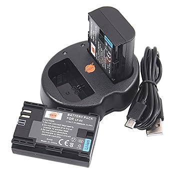 対応バッテリー:Canon LP-E6 2個同時充電可能USB充電器 ランプ表示:充電中→赤 充電完了→緑 USB端子がある機器に接続し、どこでも充電可能、急速充電が可能、軽量で携帯に大変便利 保護回路:本製品には過電流保護、過充電防止、過放電防止の保護回路が内蔵されていますので 使用機器にダメージを与えることなく安心してご利用いただけます
