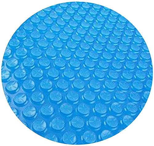 Fiogavroetic Solar Round Pool Cover for 4 5 6 8 10Ft Round Diameter Easy Set Pool Cover Above Ground Pool Heater Round Solar Cover for Swimming Pool Keeps Out Leaves Round Pool Cover Quick Set (8FT)