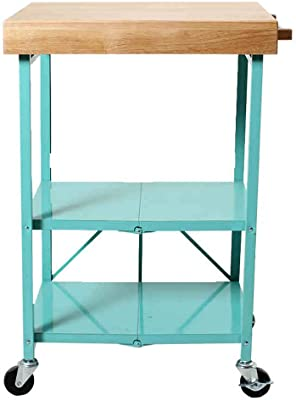 Amazon.com: trolley- Bamboo Tea Cabinet Coffee Table Dining ...