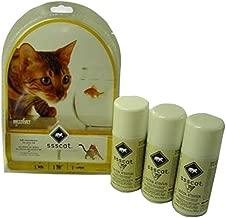 Innotek Multivet Ssscat Automated Cat Deterrent Kit and 2 Unscented Repellent Refills