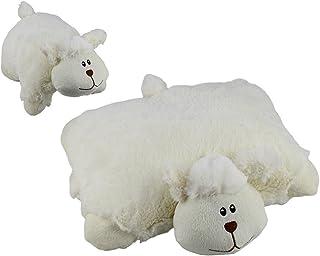 Elka Australia 60187-S Sheep Cushion Soft Plush Toy, 25 x 25 Centimeters