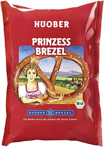 HUOBER BREZEL Bio Prinzessbrezel mit Salz (6 x 125 gr)