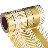Mudder Washi Masking Tape Collection, Pack of 6 (Color Set 4)
