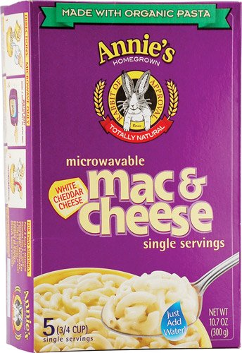 Annie's Homegrown Organic Microwavable Macaroni and Cheese Singl