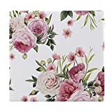 Mesllings Sitzkissen, Aquarell, tropische Blumen, bedruckt, modisch, quadratisch, bequem,...