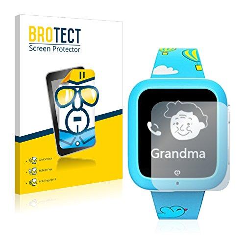 brotect Pellicola Protettiva Compatibile con miSafe Kid's Watcher Plus Pellicola Trasparente (2 Pezzi) Anti-Impronte