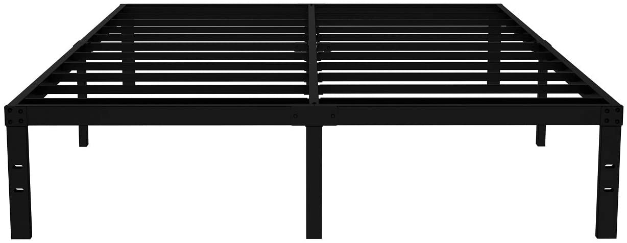 Industry ! Super beauty product restock quality top! No. 1 COMASACH 16 Inch King Size Bed Supports to 3500lbs up No Frame