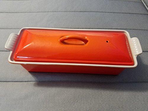 Le Creuset Pastetenform Rechteckig 32x 11cm orange