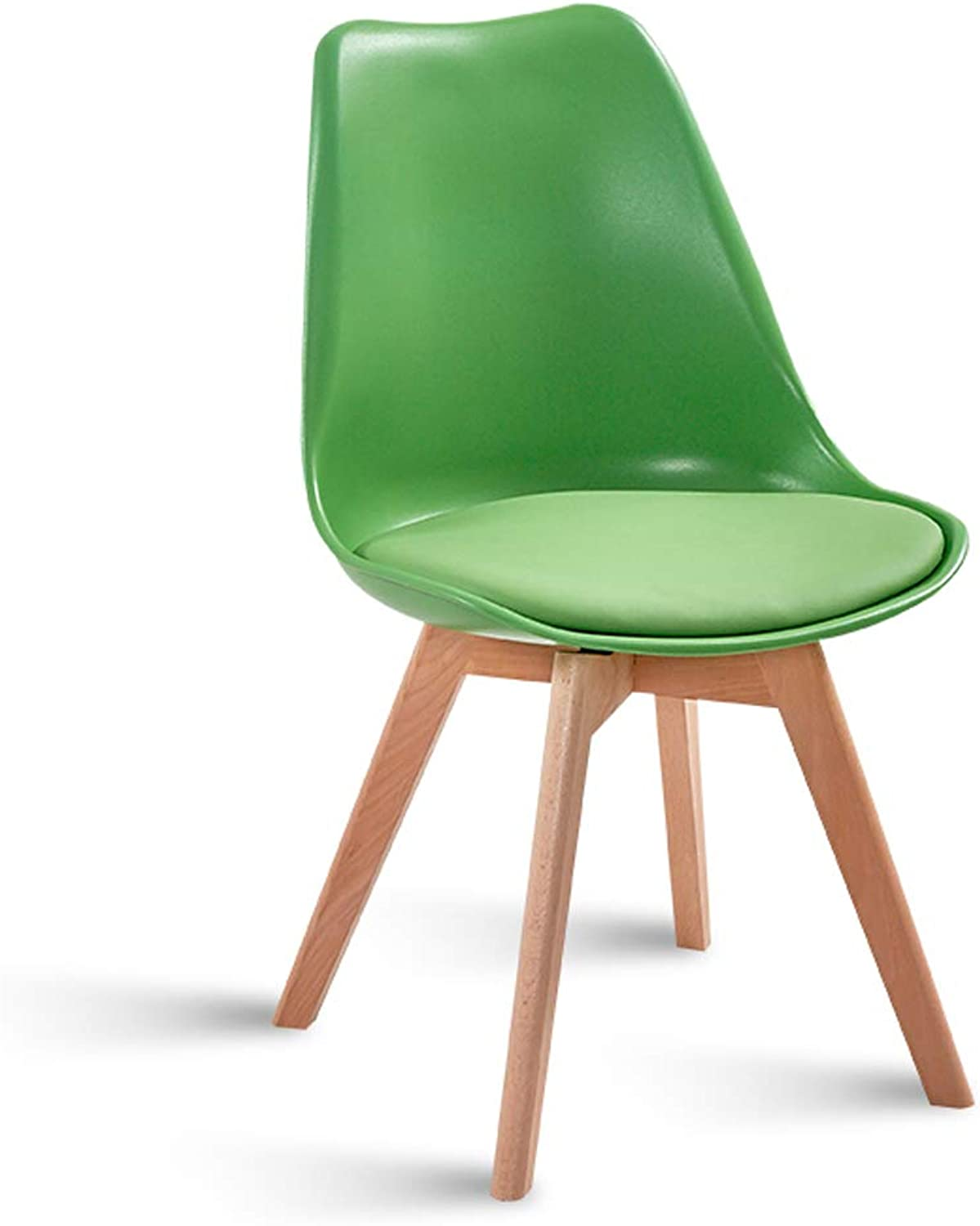 LRW Modern Creative Reception Office Chair Nordic Simple Leisure Chair, Back Chair, Green