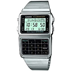 powerful Casio DBC-611-1CR Database Quality Classic Series Watch-Silver