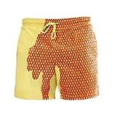 N\P Pantalones cortos de playa de secado rápido de los hombres trajes de baño...