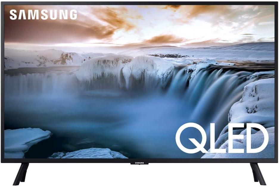 """SAMSUNG QN32Q50RAFXZA Flat 32"""" QLED 4K 32Q50 Series Smart TV2019 (Renewed)"""