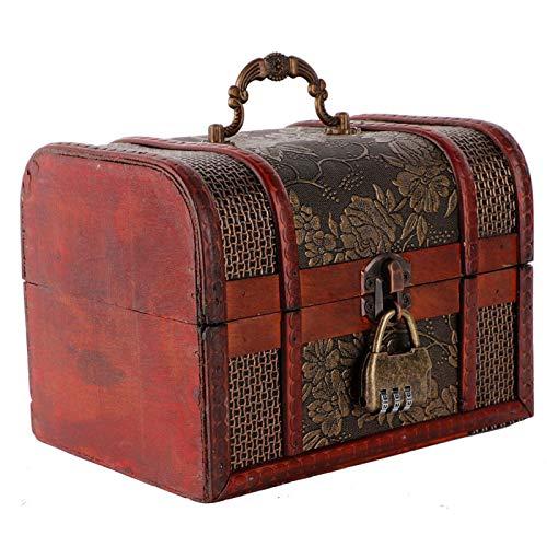 Clasken Caja de almacenaje, organizador para joyas, brillante, ecológico y robusto, para pendientes, collares, otros pequeños objetos y anillos