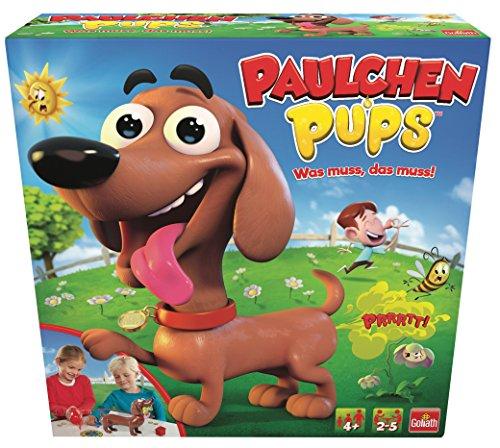 Goliath 30685 - Paulchen Pups, Kinder Gesellschaftsspiel, hundsmäßiger Pups Spaß, Partyspiel für Groß und Klein, ab 4 Jahren