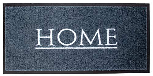 Schmutzfangmatte HOME Emotion XS Home in 3 Farben 80 x 40 cm Türmatte Fußmatte (Grau)