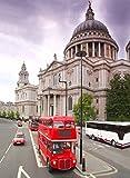 Städte Polarfleecedecke - London Bus
