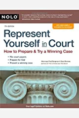 By Paul Bergman J.D., Sara Berman J.D.: Represent Yourself in Court: How to Prepare & Try a Winning Case Seventh (7th) Edition Paperback