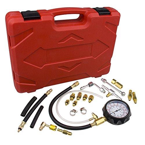 CarBole Fuel Injection Pump Pressure Tester Gauge Test kit 0-140 psi
