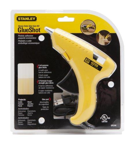 Stanley GR20K Trigger Feed Hot Melt Glue Gun Kit