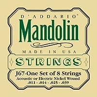 D'Addario ダダリオ マンドリン弦 J67 Mandolin/Nickel 【国内正規品】