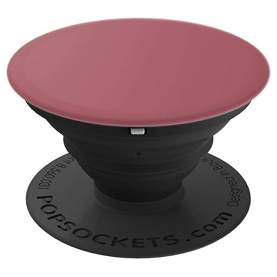 Solid Color Pop Socket - Mauve Wood - PopSockets Grip and Stand for Phones and Tablets