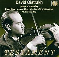 Plays Prokofiev Khachaturian & Szymanowski
