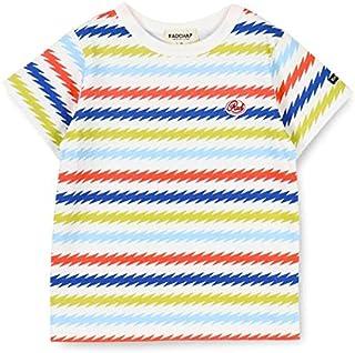 ブランシェス(branshes) 稲妻ボーダー半袖Tシャツ