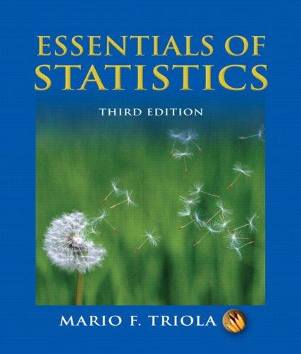 Essentials of Statistics (3rd Edition)