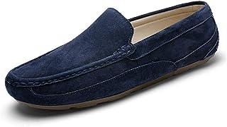 أحذية رجالية ناعمة من الجلد ذات جودة عالية أحذية قيادة مسطحة للرجال -  -  6