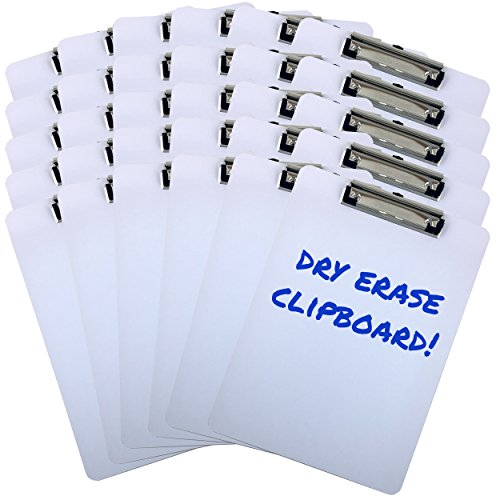 Clipboard Dry Erase Surface 9'' ...