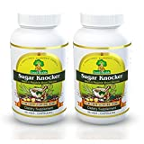 Deals4Good Sugar Knocker Ayurvedic Medicine for Diabetes, 100% Natural Herbal Product Without Side Effect (180 Capsules for 60 Days) (Pack of 2)
