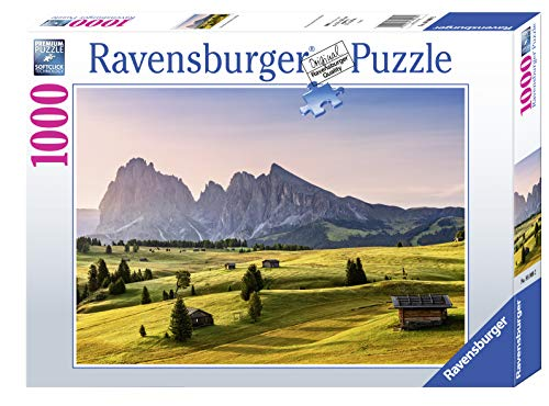 Ravensburger Puzzle 1000 Teile - Seiser Alm, Dolomiten, Südtirol - Puzzle für Erwachsene und Kinder ab 14 Jahren, Amazon Sonderedition