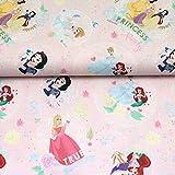 Doppelmoppel Lizenstoff Disney Princess Bio Baumwollstoff