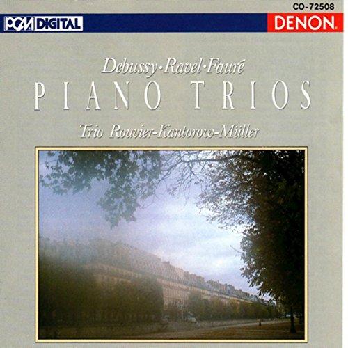 Trio for violin, violoncello & piano: IV. Finale - Anime