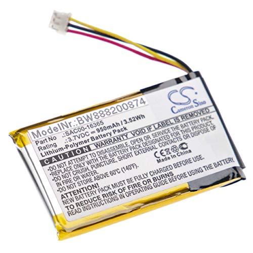 vhbw batteria compatibile con Sportdog Bird Launcher Receiver, Contain, DF-CT, DF-CTR collare per cani (950mAh, 3.7V, Li-Poly)