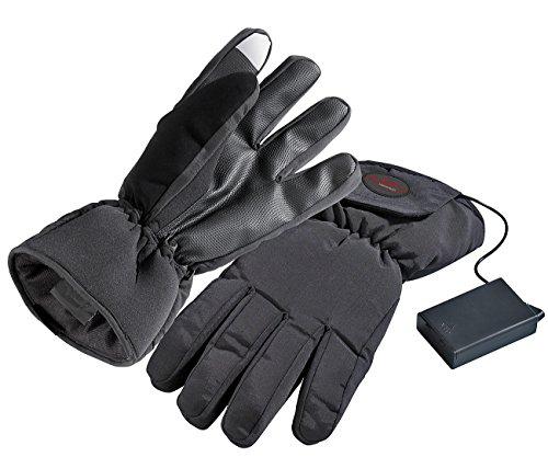 infactory Handschuh beheizt: Beheizbare Handschuhe, Größe S, batteriebetrieben (Selbstwärmende Handschuhe)