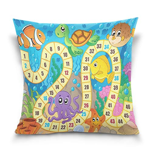 Asekngvo Throw Pillow Case Funda de cojín Decorativa Funda de Almohada Cuadrada,...