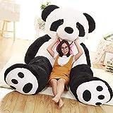 HNBY Grande Lindo Bebé Oso De Panda Gigante De Peluche De Felpa Animal De Gran Tamaño De La Muñeca del Jumbo De La Panda Almohadilla De La Historieta De Kawaii Dolls Girls Regalos (Color : 160cm)