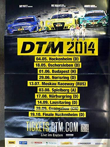 DTM 2014 - Veranstaltungs-Poster A1-40