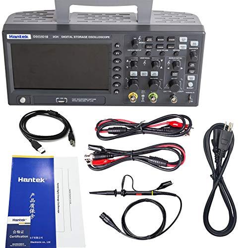 Hantek DSO2D10 Digital Storage Oscilloscope 100MHz 1GSa/s 8M,2 Channel,2CH+1CH with Signal Source